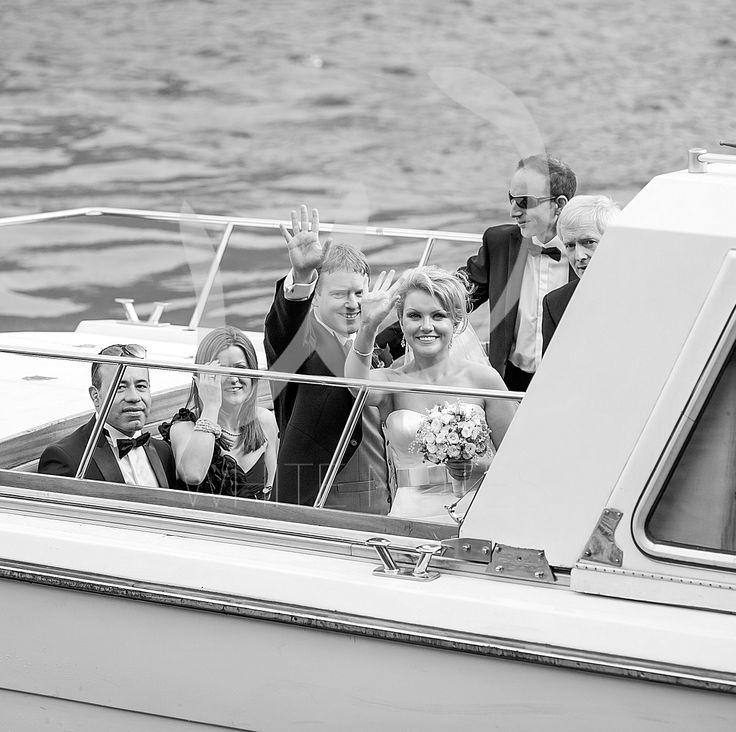 Intimate wedding on the lake...
