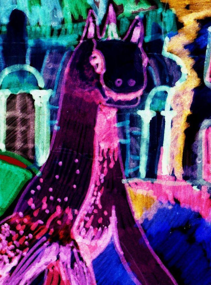 drago unicorno