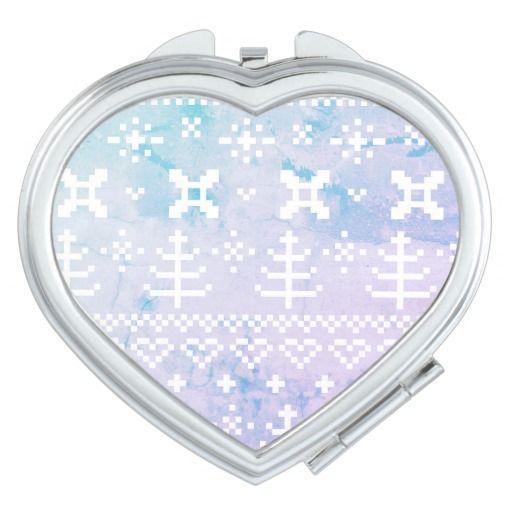 Compact Mirror : Snowy luxury edition