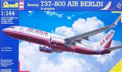 Revell Air Berlin Boeing 737-800 & Winglets 1:144 Scale Model Kit £14.99