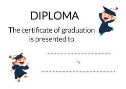 Dyplomy angielski