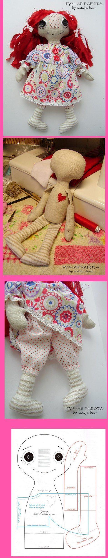 rag doll pattern ....Nims....                                                                                                                                                                                 More