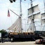 Mystic, Connecticut has one of the coolest Seaport museums. You feel like you've stepped back in time. One of my favorite things was getting to tour an old whaling ship.