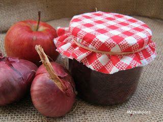 Mézeskalács konyha: Lilahagyma lekvár