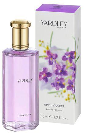 """""""April Violets"""" by Yardley - Eau de Toilette"""