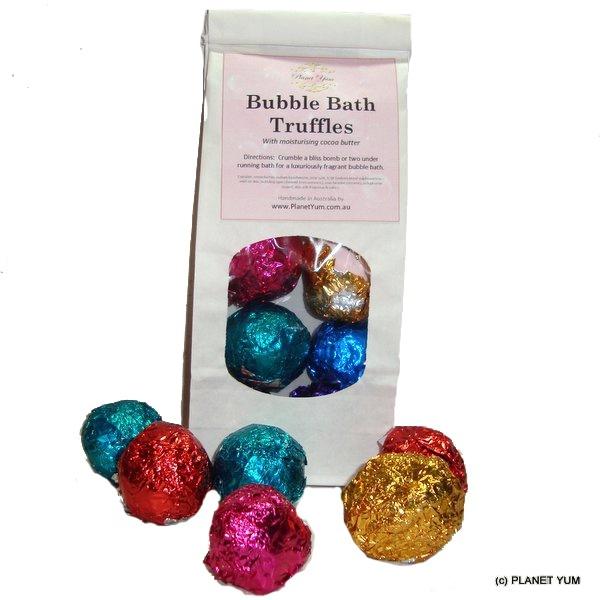 Bubble Bath Truffles