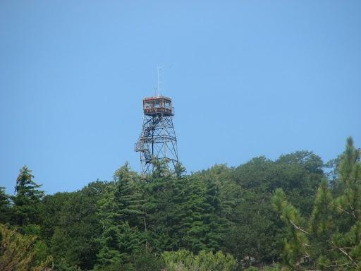 dorset fire tower, ontario canada