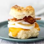 Bacon Egg and Cheese Biscuit Sandwiches