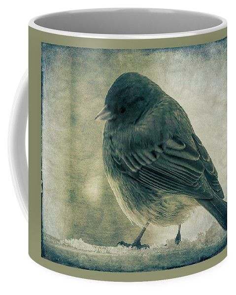 The Visitor Coffee Mug by Leslie Montgomery.  Small (11 oz.)