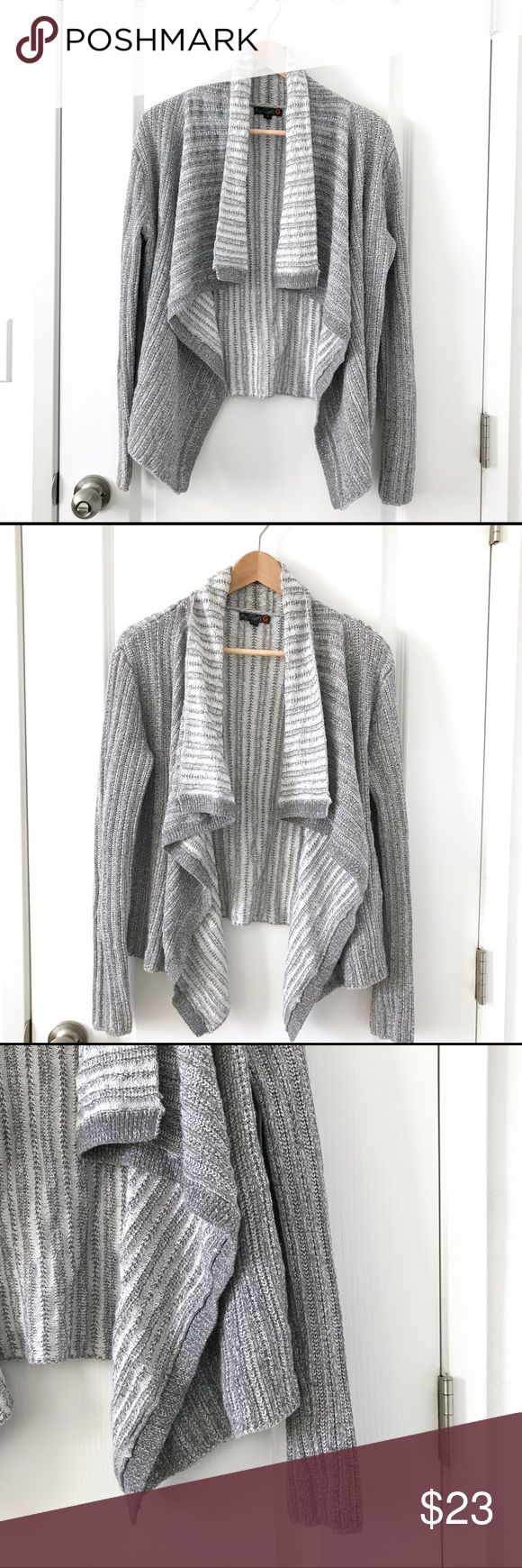 🔥Just Reduced🔥 GUESS Waterfall Drape Collar Sz M G by Guess open cardigan w/ waterfall drape collar.  Easy to wear, and goes with everything.  Pairs perfectly with leggings/jeans, and boots. 100% cotton. In great pre-owned condition. Size Medium.  — Offers are always welcome. 😊 — Bundle 2 or more items from my closet and I will send you a private discount, + discounted shipping. 😍 G by Guess Sweaters Cardigans