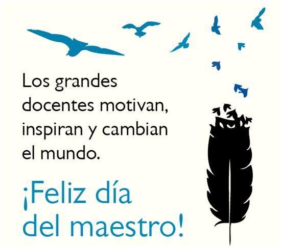 140 Ideas nuevas para el Día del Maestro: Mensajes, frases, tarjetas, imágenes de Feliz Día del Maestro