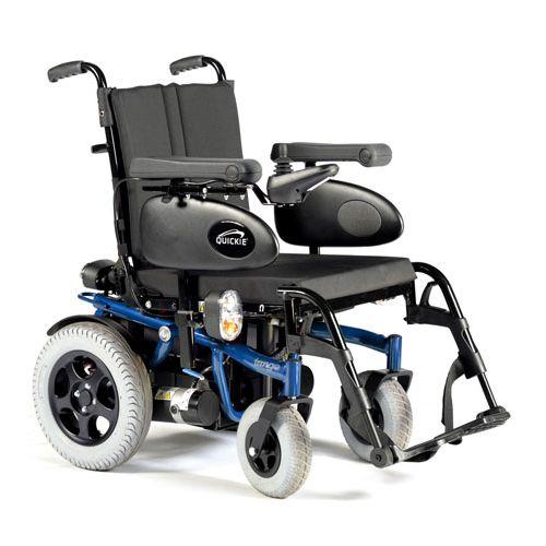 Sunrise Medical Quickie Tango Powerchair - folding backrest for transport - 40-50ah - 10 degree slope - power tilt - manual recline