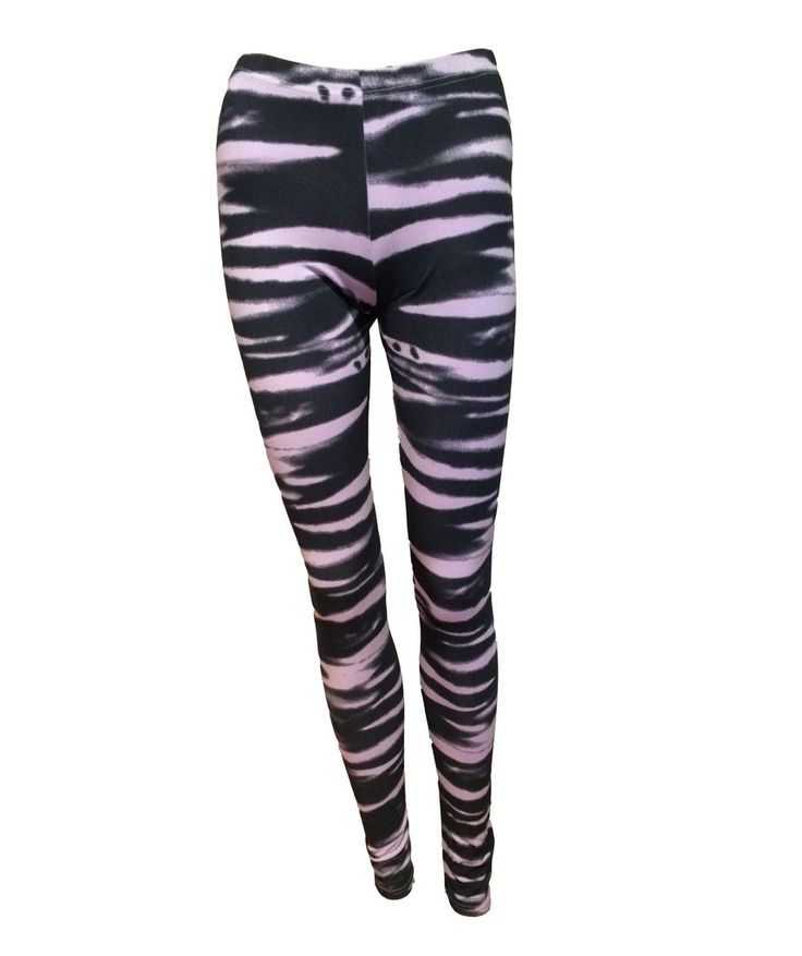 A Postcard From Brighton Waves Parma Violet Leggings