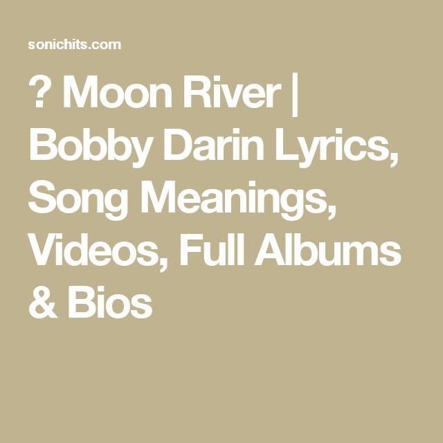 1000+ Ideas About Moon River Lyrics On Pinterest