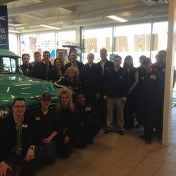 Our staff at Davis Chev (the ones that could be here)