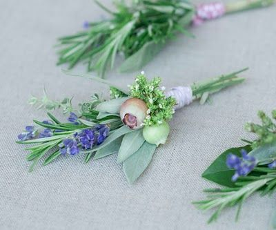 Sweet country bouquets