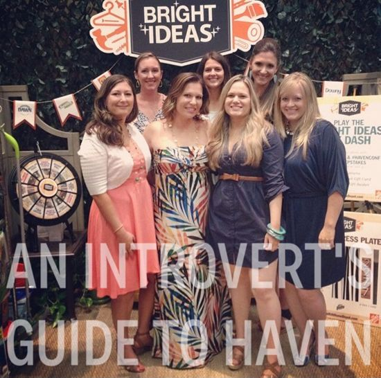Blue i Style: {blog conference} An Introvert's Guide to Haven