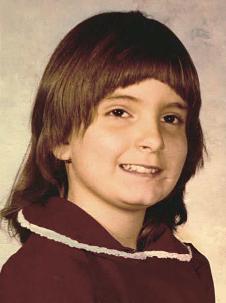 Tina Fey childhood photo http://celebrity-childhood-photos.tumblr.com/