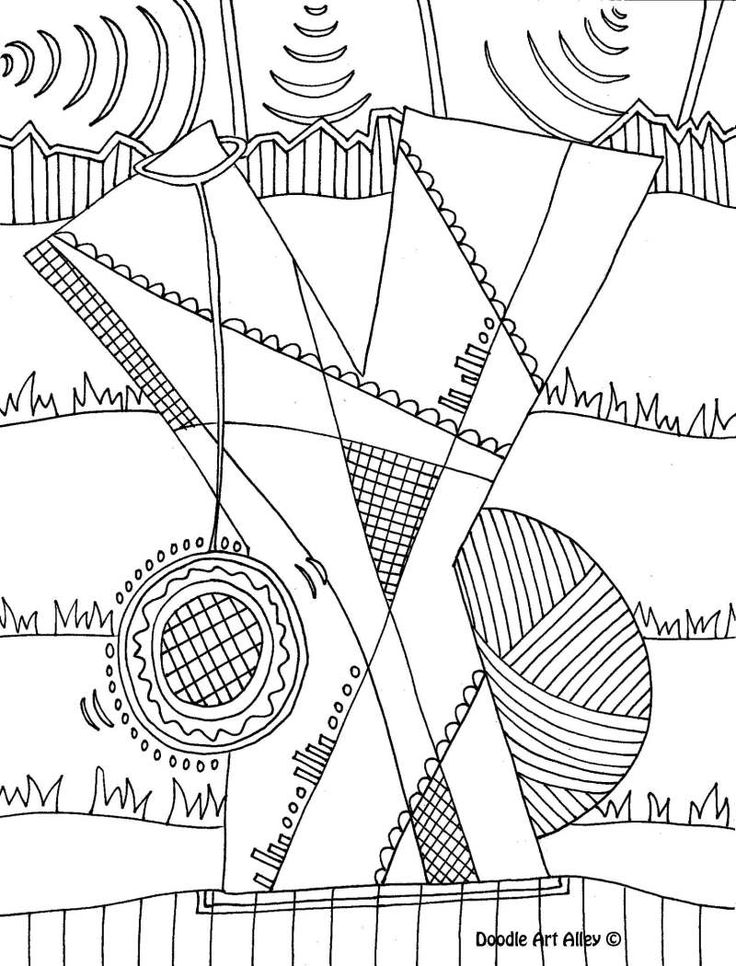 Doodle Art Alley Coloring Pages Home Sketch Coloring Page