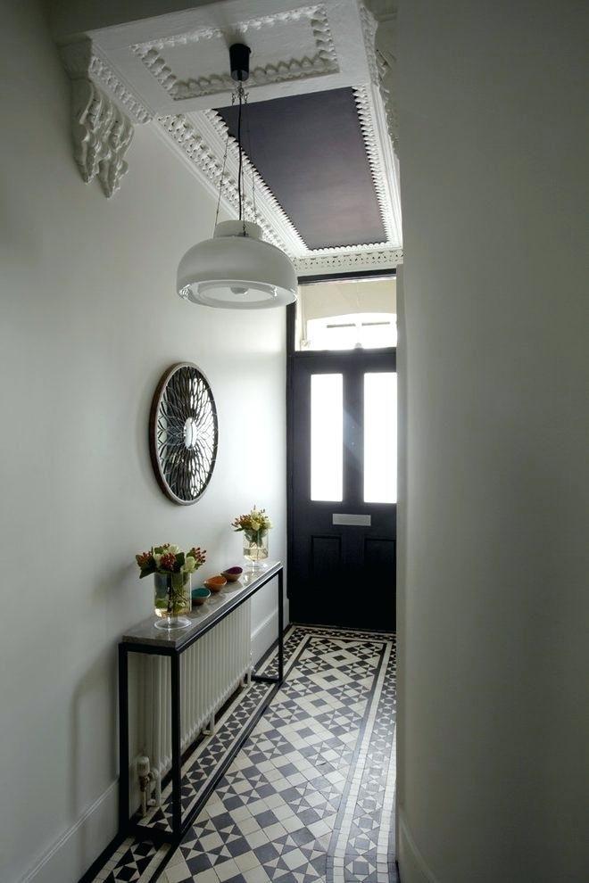 Entry Hallway Floor Hallway Tile Ideas Hall With Narrow Hallway
