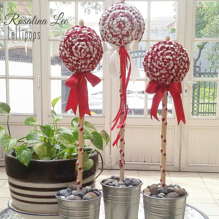 Crochet lollipop ..