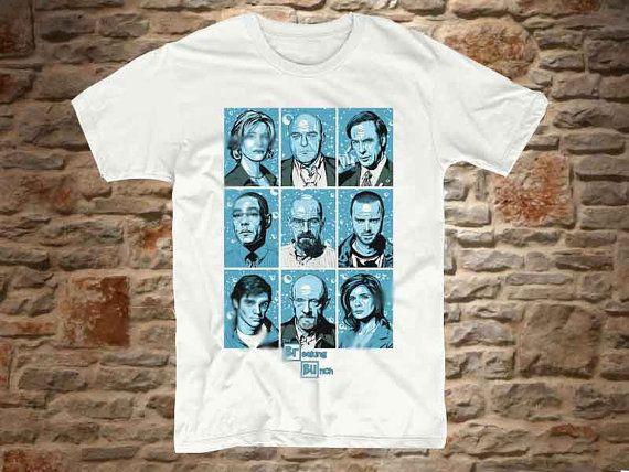 beraking bad character a 100 cotton branded Tshirt by bluebeeshirt, $18.50