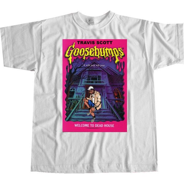 Travis Scott Goosebumps Birds in the Trap Sing McKnight Tee featuring polyvore, women's fashion and clothing