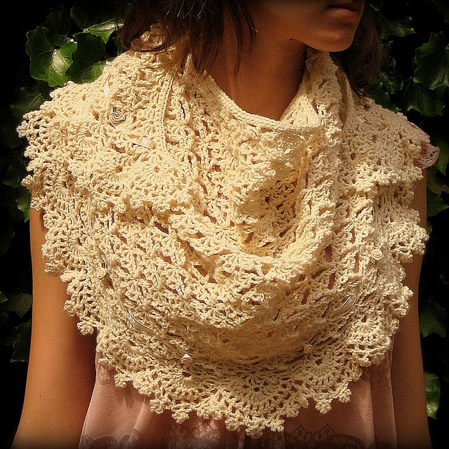 Fete du Printemps - superb crochet and FREE RAVELRY!!