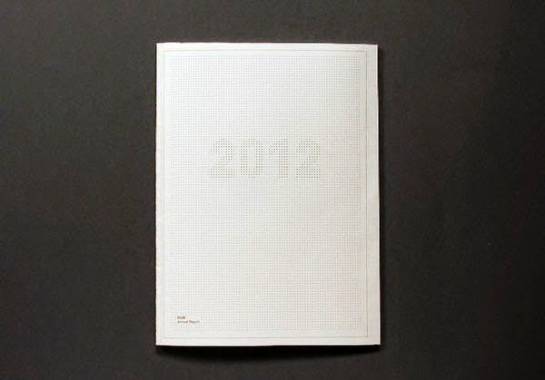 Contoh Desain Gambar Buku Laporan Tahunan - Annual report - Craft Victoria oleh Anders Bakken
