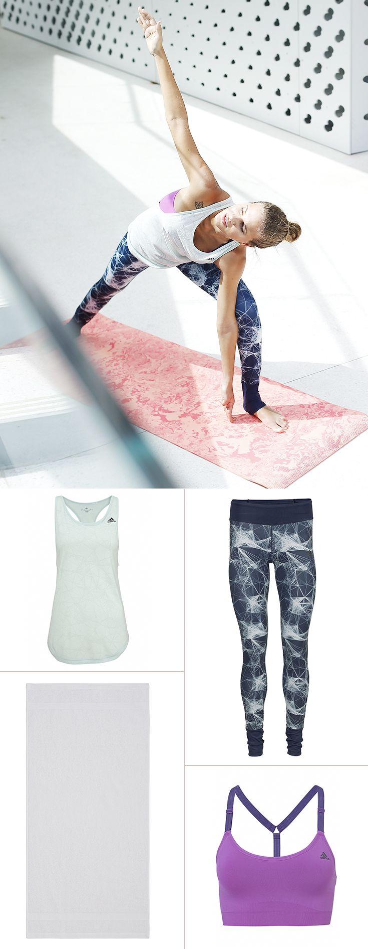 Cooler Mix aus zurückhaltenden Pastellfarben und angesagten Graphic-Mustern: Damit kannst du gleich zwei aktuelle Fashion-Trends in dein Sportoutfit einbauen – und natürlich auch in deine liebsten Streetwear-Looks!