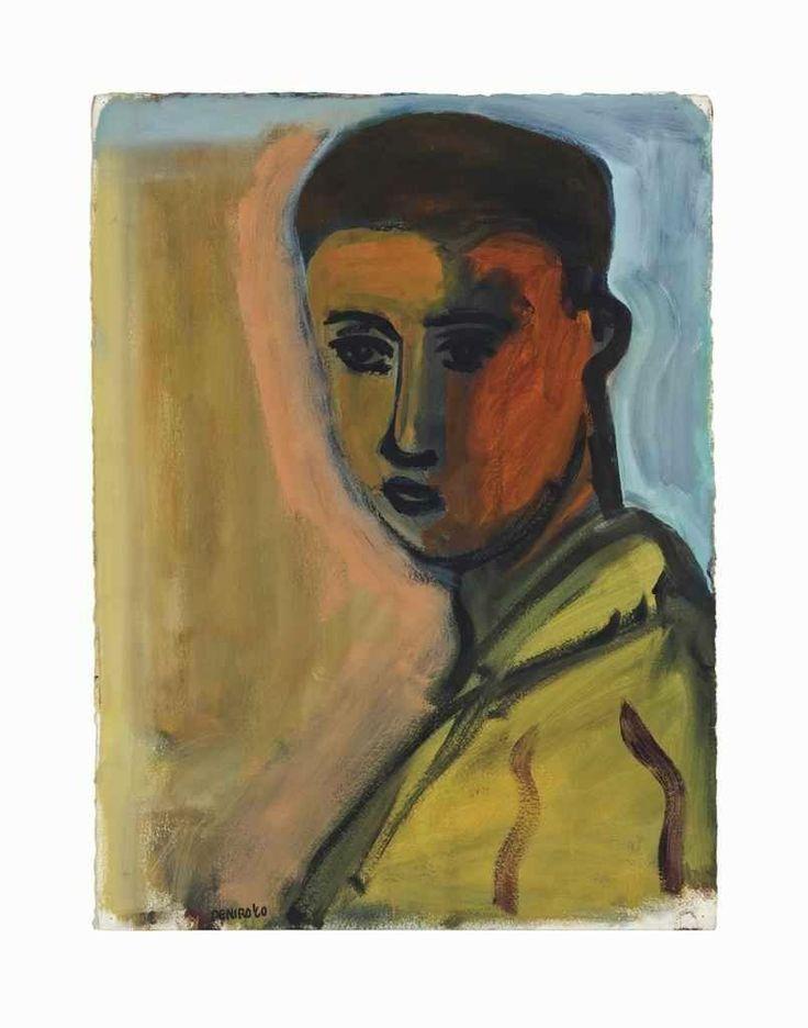 Robert De Niro Sr. (1922- 1993) Self-Portrait, 1960