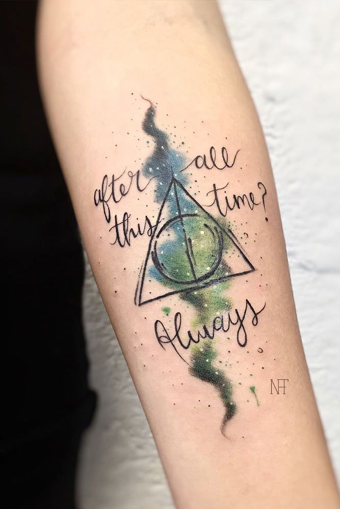 17 Harry Potter Tattoos For True Fans Of The Magical Story Harry Potter Quotes Tattoo Harry Potter Tattoo Unique Harry Potter Tattoos