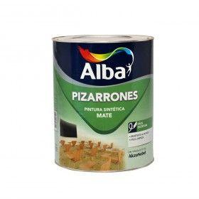 Pinturerías Rex - Pizarron Negro Alba 0.5 Lt - Esmaltes - Pinturas - Producto