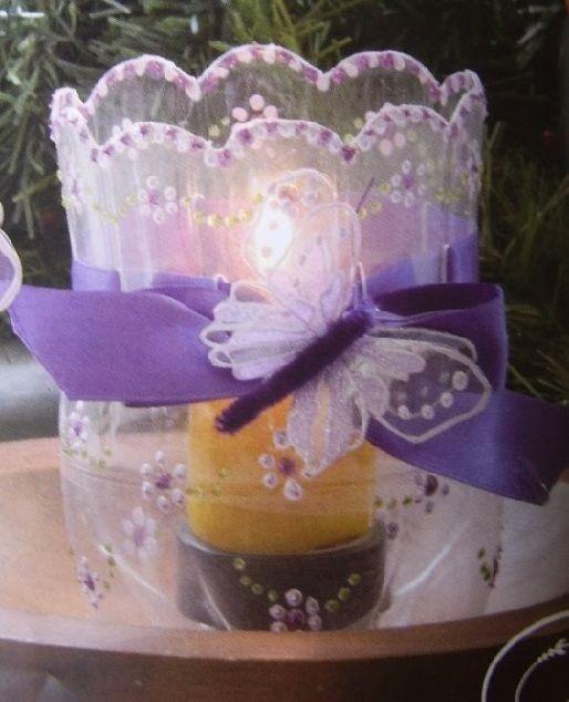 como hacer decoraciones para navidad | ... cómo hacer unos bonitos faroles para iluminar tu mesa navideña