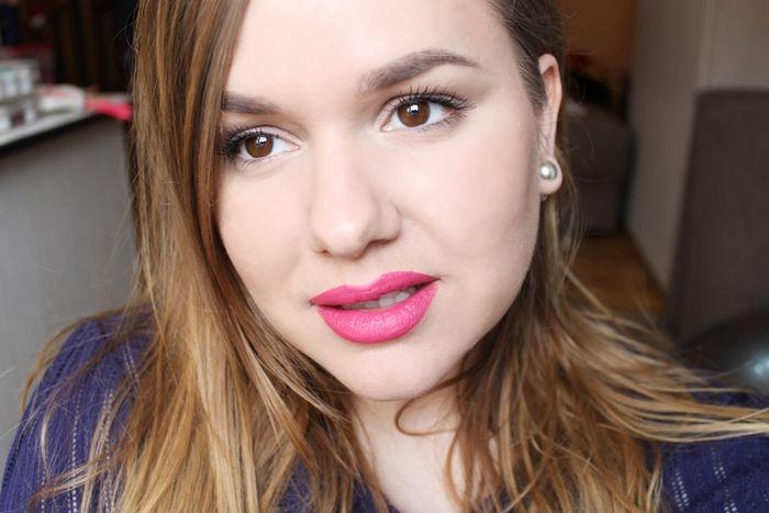 Review & Swatch: Avon Matte Lipstick- Adoring Love