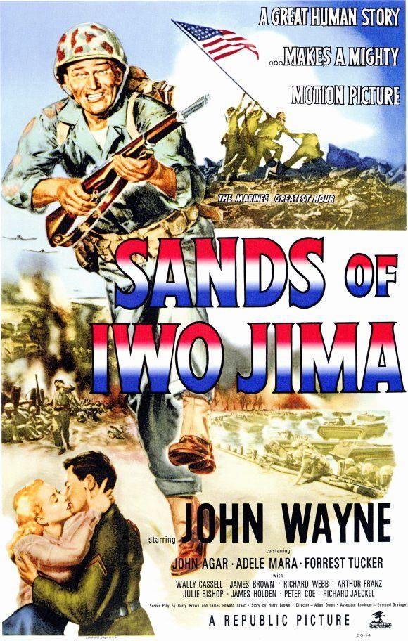 Sands of Iwo Jima 11x17 Movie Poster (1949)