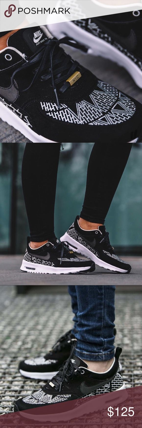 Spotted while shopping on Poshmark: Nike Air Max Thea Suede NYC Sneakers! #poshmark #fashion #shopping #style #Nike #Shoes