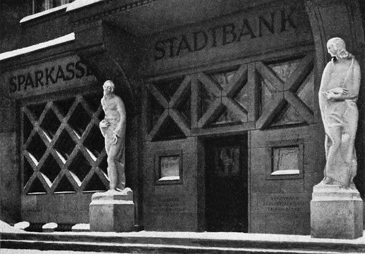 Königsberg Pr. Portal der Sparkasse