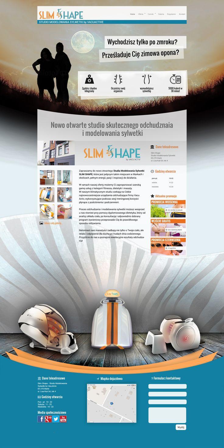 Slim Shape strona główna slide 1