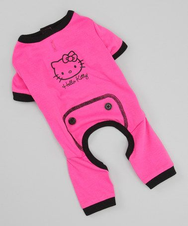 how stinking cute!! Take a look at this Pink Dog Pajamas by Hello Kitty on #zulily today!