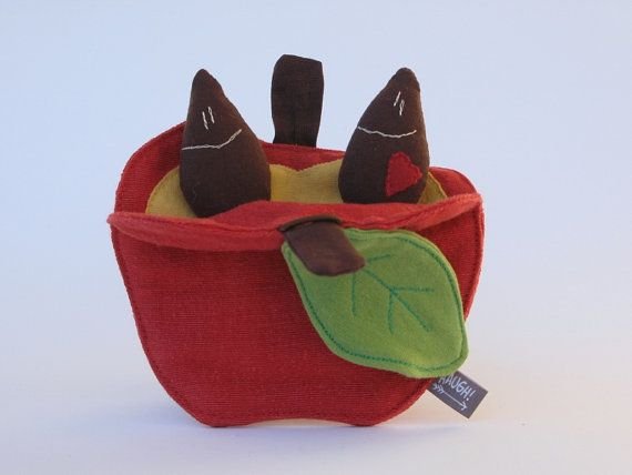 semi di mela, semi mela, regalo bambin, insegnante, regalo Balotaro, apple, seme, idea regalo, insegnante regalo, ragazzo regalo, mela stoffa, regalo del bambino, idee regalo