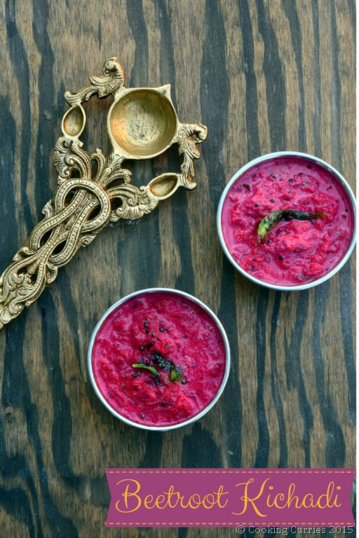 Beetroot Kichadi - Beetroot Pachadi - Kerala Sadya Recipes -Cooking Curries - Onam Sadya - Vishu Sadya