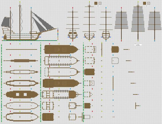 A wonderful ship schematic that shall be used for my airship!                                                                                                                                                      More