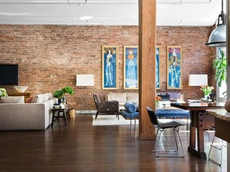 64 best images about d co salon on pinterest baroque lighting design and e - Deco loft new yorkais ...