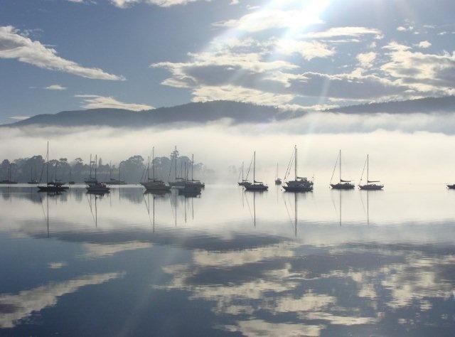 Port Cygnet Yatch Club, Tasmania, Australia