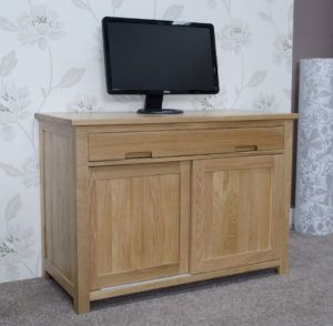 Opus Oak Hideaway Computer Desk