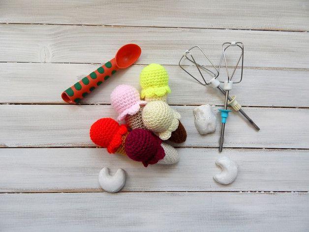 Zabawka dla dziecka - lody - komplet - mellcja - Maskotki i pluszaki