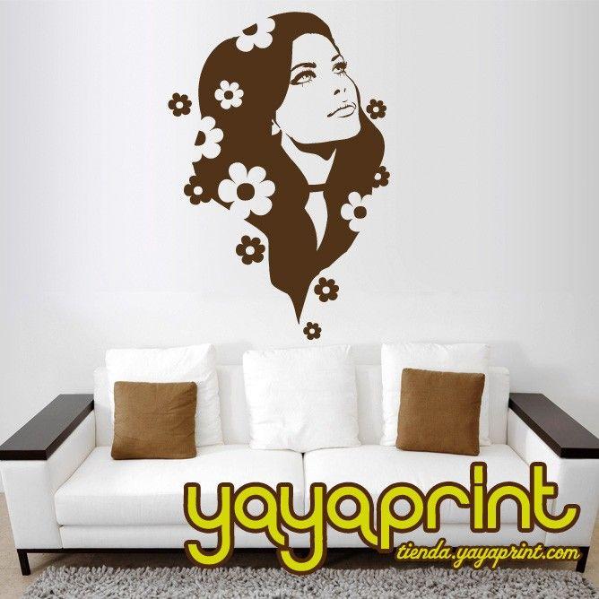 diseños de pared para dormitorio de niña - Buscar con Google