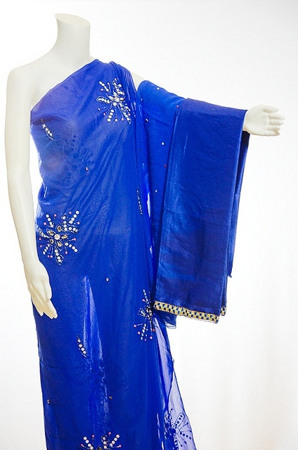 chic royal blue georgette dirac like  repin  share  thanks