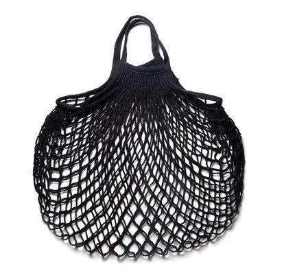 French Cotton Net Bag (Black) - Kaufmann Mercantile